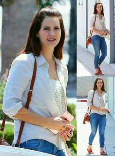 Lana Del Rey arriving at a recording studio in Santa Monica #LDR