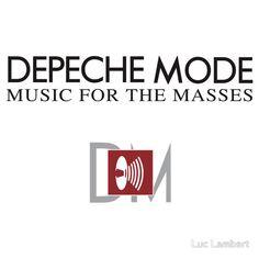Depeche Mode : Music For The Masses Logo 2