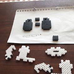 ふじた・だのいち・チャッキーのアイロンビーズ工房の画像 3d Perler Bead, Design, Hama Beads Patterns, Beads