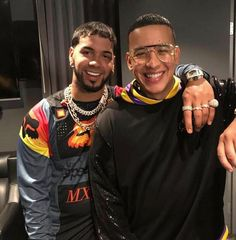 anuel aa x daddy yankee 🇵🇷 𝒑𝒊𝒏𝒕𝒆𝒓𝒆𝒔𝒕 : 🖤 Daddy Yankee, Latino Artists, Music Artists, Puerto Rican Singers, Famous Singers, Famous Celebrities, Baby Daddy, Record Producer, Celebrity Pictures