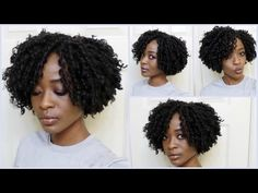 How To Make Your Crochet Braids Look Natural : Janet Collection Indi Remi Afro Jerry Curl, knot free - YouTube