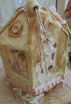 french fabric box   Flickr - Photo Sharing!