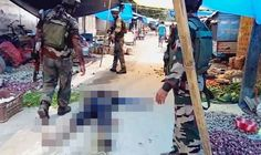 Terror attack on market leaves 14 dead as armed men go on rampage with guns and grenades