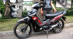 13 Best Modifikasi Motor Supra X 125 Images Honda Boat Boating