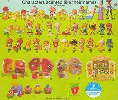 Strawberry Shortcake characters