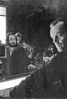 Stanley Kubrick and Jack Nicholson on the set of THE SHINING (Stanley Kubrick, USA, 1980) #Kubrick