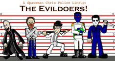 I've decided to do a series of police lineups of characters I like or who have influenced me in some way, to start things off I thought I'd go with a to. Police Lineup: The Evildoers Monster Squad, Horror Icons, Social Community, Lineup, Police, Characters, Deviantart, Touch, Thoughts