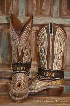 Paradise Jacqi bling swarovski cowgirl boots