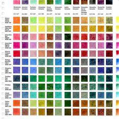Daniel Smith Primatek × Primary 12 Color 001