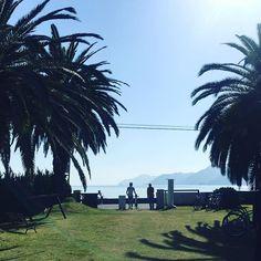 【s__aya109】さんのInstagramをピンしています。 《立花食堂から見える景色😳💓晴天並みの青空で本当に綺麗だった💓#立花食堂#から見える景色#青空#海#自然#サイクリング#しまなみ#空#景色》