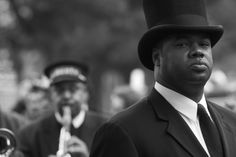 Beautiful photography from a Jazz funeral