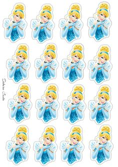 Cupcakes Princesas, Listerine, Cupcake Toppers, Adult Coloring, Projects To Try, Paper Crafts, Printables, Disney Princess, Creative
