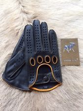 Men's Driving Leather Gloves Deerskin Business Class Car Glove 2016 Model