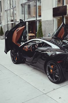 I want a car with doors like this!