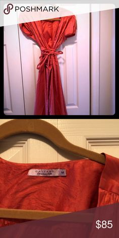 Barth Wrap Dress I'm crushed silk Calypso Peach/orange Wrap Dress I'm crushed silk Calypso St. Calypso St Barth, Peach Orange, Fashion Design, Fashion Tips, Fashion Trends, Crushes, Wrap Dress, Silk, Womens Fashion