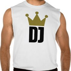 Dj crown champion sleeveless shirts Tank Tops