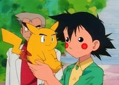 Ash and Pikachu, When They First Met! Ash and Pikachu, When They First Met! O Pokemon, Pokemon Funny, Pokemon People, Pokemon Stuff, Pikachu Pikachu, Ash Ketchum, Cartoon Faces, Funny Faces, Face Swaps