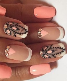Fascinating nail art About this pin; 31 Related posts: 53 Outstanding Bridal Nails Art Designs Ideas – … 43 Nail Ideas to Inspire Your Next Mani 65 Awe-Inspiring Nail Art Designs for Short Nails French Manicure Nail Art Designs 17 Matte Nail Art, Nail Art Diy, Diy Nails, Acrylic Nails, Coffin Nails, Wedding Nails Design, Latest Nail Art, Nagel Gel, Creative Nails