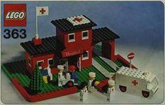 Lego 363 - Hospital - 1975