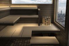 Diy Sauna, Home Spa Room, Spa Rooms, Sauna House, Sauna Room, Saunas, Lava, Electric Sauna Heater, Building A Sauna