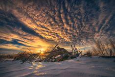 "Winter Rise - The rising sun over fallen trees in the snow. Website | Facebook | Instagram://www.facebook.com/IanMcGregorPhotography"">Facebook"
