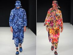 Craig Green's tied, dyed, smothered, and covered S/S 2014 collection