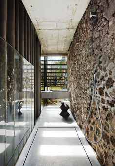 Row House by RCR Arquitectes in Palamós Architecture Magazines, Architecture Old, Contemporary Architecture, Architecture Details, African Furniture, Patio Interior, Interior Design, Modern Interior, Inside Outside
