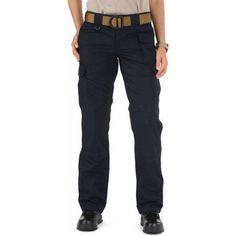 5.11 Tactical Women's Taclite Professional Pant, Dark Navy, Size: 4 Regular, Blue