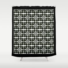#HEAVEN7 #SHOWER #CURTAINS #CORTINAS DE #BAÑO #CASA DE #BANHO #PATTERN #BLACK #WHITE Customize your bathroom decor with unique shower curtains designed by artists around the world. Made from 100% polyester our designer shower curtains are printed in the USA and feature a 12 button-hole top for simple hanging. The easy care material allows for machine wash and dry maintenance. Curtain rod, shower curtain liner and hooks not included. Dimensions are 71in. by 74in.