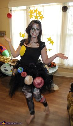 Ms. Universe - great Halloween costume idea!