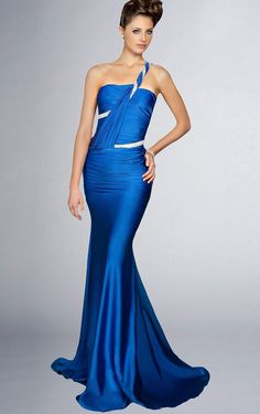 Find out the latest Mermaid Floor-length One Shoulder Dark Green Dress with  Dressesy. From evening dresses to prom dresses 094951496f00