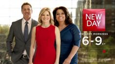 "Update you media lists! It's a ""New Day"" for morning shows."