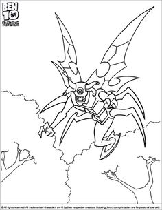 Rook Blonko Coloring Picture from