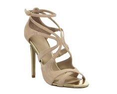 acaa8d830b0f Womens Office Natural Suede Buckle Sandals UK Size 5   Ex Display. Prom DateSuede  SandalsHeeled ...
