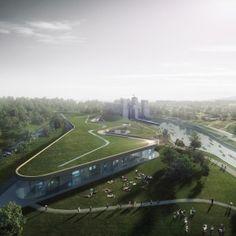 Heneghan Peng unveils winning design for canoe museum in Canada