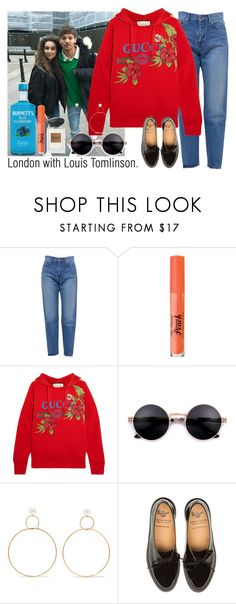 """Honest."" by carla-limitededition ❤ liked on Polyvore featuring Yves Saint Laurent, Too Faced Cosmetics, Gucci, Natasha Schweitzer and shawnmendes"