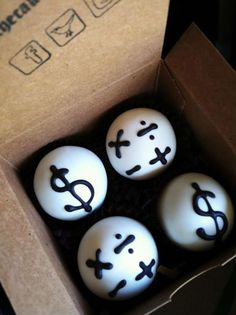 Accounting balls  www.thecakeballers.com