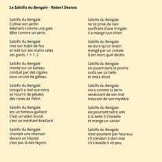 Robert Desnos, Le sa