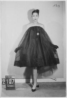 ROBE BABY DOLL dress HUBERT DE GIVENCHY RICCARDO TISCI ARCHIVE