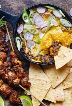 Mexican Food Recipes, Snack Recipes, Snacks, Ethnic Recipes, Food Crush, Cakes And More, Paella, Grilling, Curry