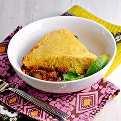 Slow Cooker Vegetarian Tamale Pie - Clean Eating