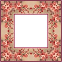 ArtbyJean - Frames: Simple but pretty square frames with square holes. Scrapbook Frames, Nature Plants, Pictures Images, How To Make Beads, Bead Art, Paper Crafts, Paper Art, Planting Flowers, Picture Frames