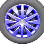CAR FLAIR   Radzierblenden   Radkappen - Original Auto Radkappe für Renault - Lackiert in RAL Pink - I Original Auto Radkappe für Renault - Lackiert in RAL Pink - I