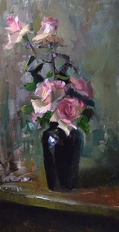 The Very Thought of You by Kelli Folsom Oil ~ 24 x 12 #OilPaintingLove