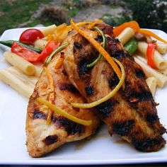 "San Diego Grilled Chicken I ""Fabulous! This a wonderful marinade for grilled chicken. I loved the idea of using fresh citrus juice!"""