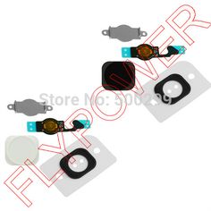 wholesale 100% warranty Home Button Flex Cable Rubber Pad Holder Gasket 4 in 1 For iPhone 5 5g by free shipping; 10 sets/lot|ae1909c9-7abd-41f0-9937-663fc44087f2|Accessory Bundles