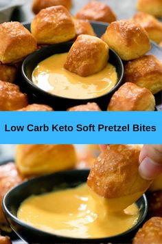 Recipes Breakfast Low Carb Low Carb Keto Soft Pretzel Bites - My Recipes for You Keto Diet List, Starting Keto Diet, Ketogenic Diet Meal Plan, Ketogenic Recipes, Low Carb Recipes, Diet Recipes, Dessert Recipes, Shake Recipes, Healthy Recipes