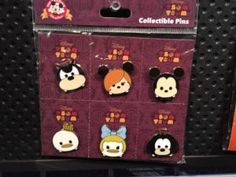 Tower of Terror Tsum Tsum Pin Set