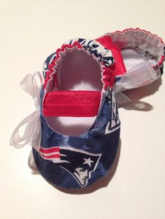 New England Patriots Baby Maryjane Booties. This will be my child's first pair of shoes hands down!