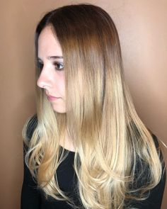 23 Long Ombre Hair Ideas Blowing Up in 2019 - Hairstyles for Long Thin Hair - Thin Hair Styles For Women, Hair Styles 2016, Short Hair Styles, Medium Thin Hair, Short Thin Hair, Long Face Hairstyles, Hairstyles For Round Faces, Long Ombre Hair, Rich Brunette